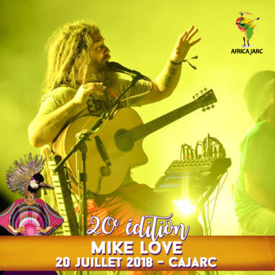 Mike Love | Africajarc 2018